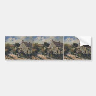 Village Road by Gustave Loiseau Bumper Sticker