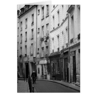 Village Saint Paul, Paris, France Card
