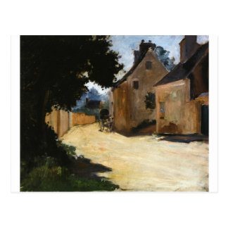 Village Street, Louveciennes Pierre-Auguste Renoir Postcard