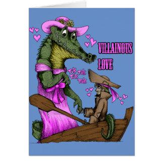 Villainous Love Card