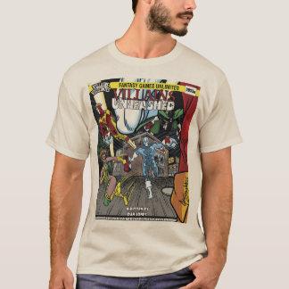 Villains Unleashed Cover Men's Basic T-Shirt