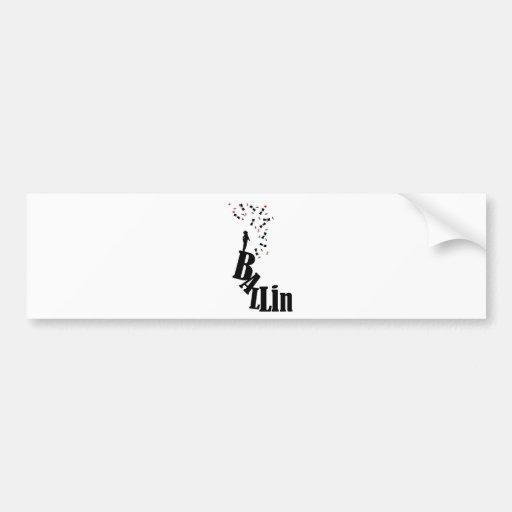 Villainy - The Baller's Reach Bumper Stickers