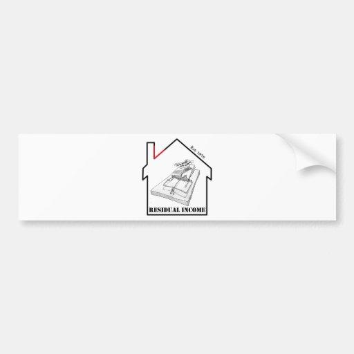 Villainy - Trap House Bumper Stickers