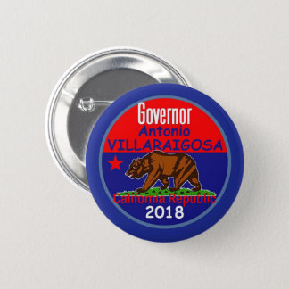 VILLARAIGOSA Governor 2018 6 Cm Round Badge