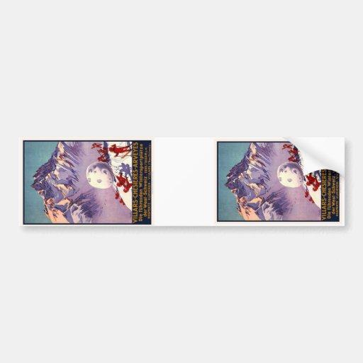 Villars Chesieres Arveyes Bumper Sticker
