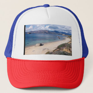 Villasimius panoramic view trucker hat