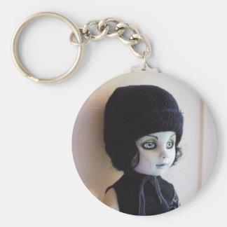 Ville Valo Basic Round Button Key Ring