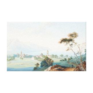 Villeneuve by Jean-Antoine Linck Canvas Print