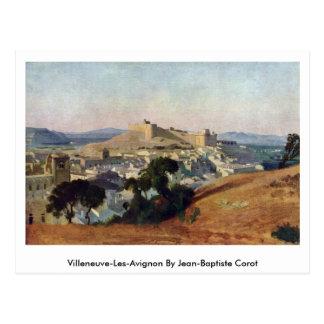 Villeneuve-Les-Avignon By Jean-Baptiste Corot Postcard