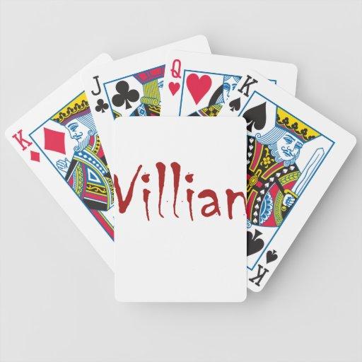 Villian Card Deck