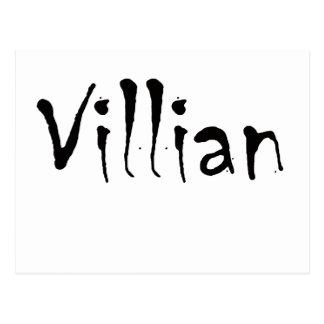 Villian Postcard