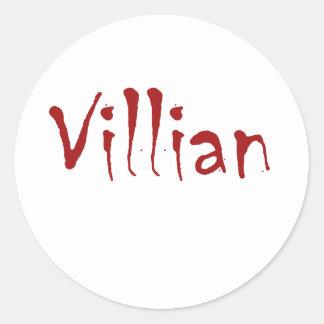Villian Sticker