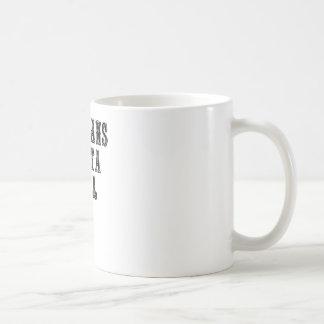 Villians Gotta Vill Basic White Mug