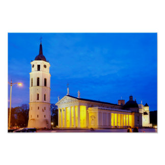 Vilnius Cathedral Poster