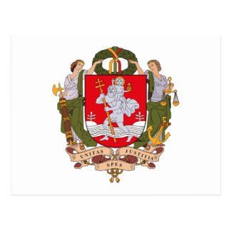 Vilnius Coat of Arms Postcard