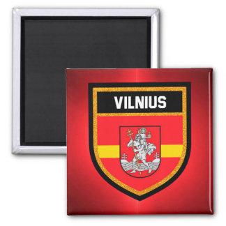 Vilnius Flag Magnet
