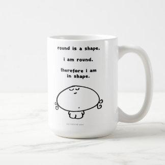 vimrod round shape coffee mug
