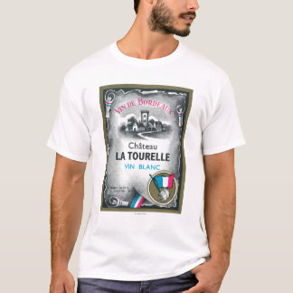Vin De Bordeaux Wine LabelEurope T-Shirt