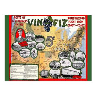 Vin Fiz Postcard