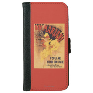 Vin Mariani Dancing Girl Pouring Wine iPhone 6 Wallet Case