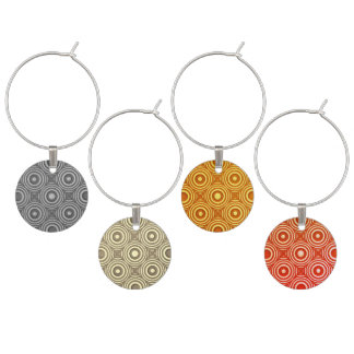 """""""Vin-Omo"""" a classy set of four Wine Charms"""