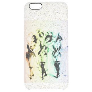 Vinagette Rainbow Victorian Showgirls Home Casino Clear iPhone 6 Plus Case