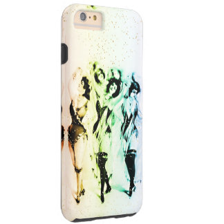 Vinagette Rainbow Victorian Showgirls Home Casino Tough iPhone 6 Plus Case