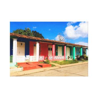 Viñales, Cuba Pop Canvas