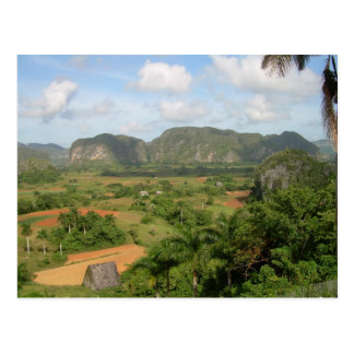 Vinales, mountains postcard