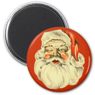 Vinatge Santa Magnet