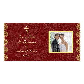 Vinayaka Wedding Save the Date Photo Cards