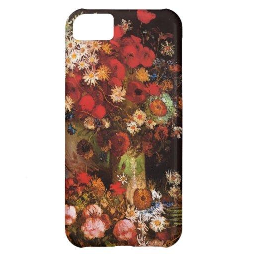 Vincen Van Gogh Flowers iPhone 5C Cover