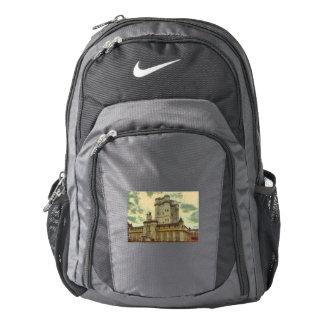 Vincennes castle, Paris painting Backpack