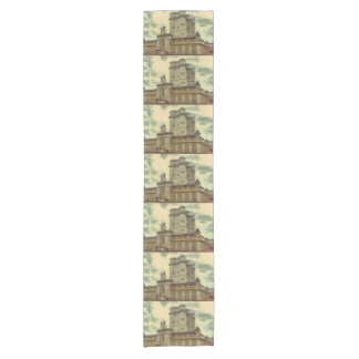 Vincennes castle, Paris painting Short Table Runner