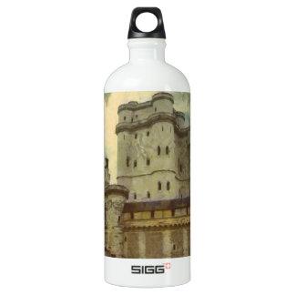 Vincennes castle, Paris painting Water Bottle