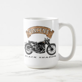 Vincent Black Shadow motorcycle Coffee Mug