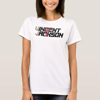 Vincent Jackson Ladies Fitted Spaghetti Shirt