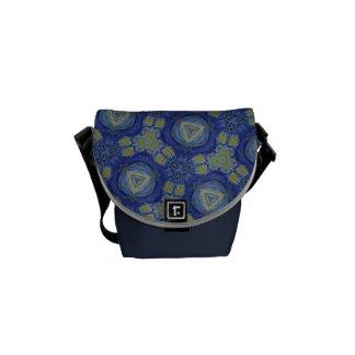 Vincent pattern no. 3 messenger bag