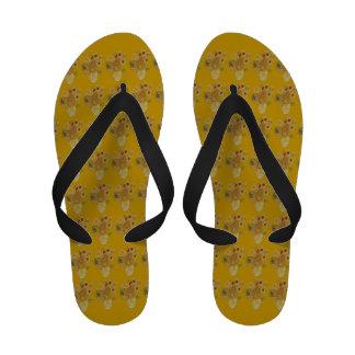 Vincent s Sunflower Flip Flops
