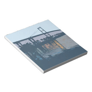 Vincent Thomas Bridge Notepad