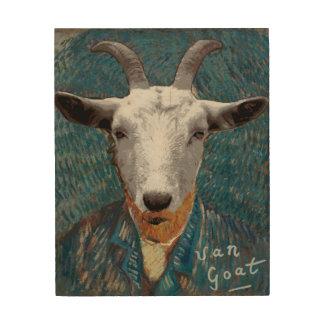Vincent Van Goat Parody Art Painting