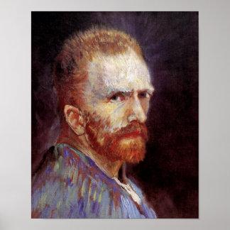 Vincent Van Gogh - 1887 Self Portrait Painting Poster