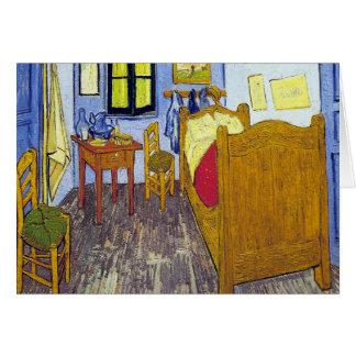Vincent van Gogh 1888 The Bedroom At Arles Card