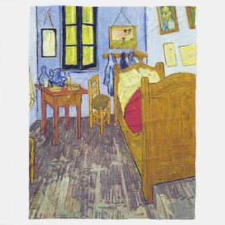 Vincent van Gogh 1888 The Bedroom At Arles Fleece Blanket