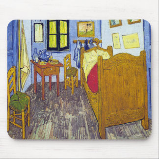 Vincent van Gogh 1888 The Bedroom At Arles Mouse Pad