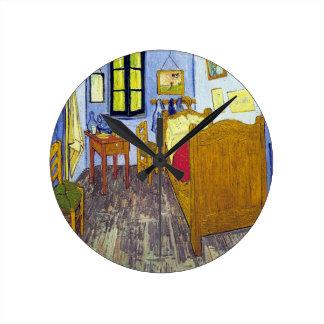 Vincent van Gogh 1888 The Bedroom At Arles Wall Clocks