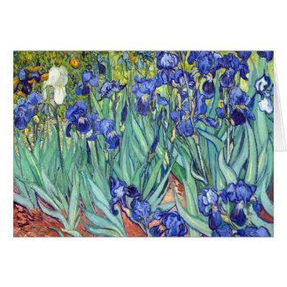 Vincent van Gogh 1889 Irises Card