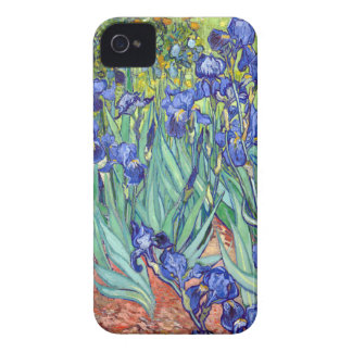 Vincent van Gogh 1889 Irises iPhone 4 Cases