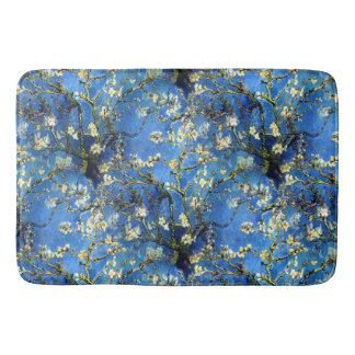 Vincent van Gogh 1890 Almond Blossoms Bath Mats