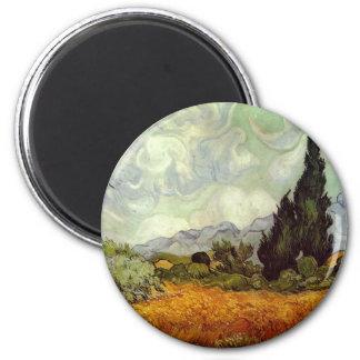 Vincent Van Gogh 6 Cm Round Magnet